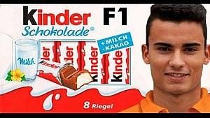 Kinder-F1 Pascal Wehrlein - ¿o el próximo campeón?