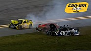 Kenseth, Johnson and others crash on last lap