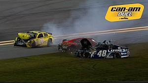 Kenseth, Johnson and others crash on last lap