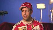 Интервью Себастьяна Феттеля на презентации Ferrari SF16-H