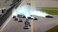 2016 NASCAR Xfinity Daytona 300 Crash