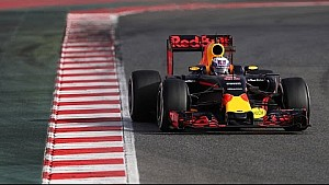 Take The Charge! The RB12 Takes To The Track In Barcelona.