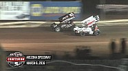 Highlights: World of Outlaws Craftsman Sprint Cars Arizona Speedway March 6th, 2016