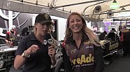 Amanda Busick is Inside the pits at the #AmalieGatornats with Leah Pritchett