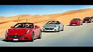 Les coulisses de l'événement Ferrari California T Deserto Rosso