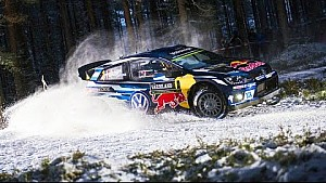 Sliding Out In Sweden | FIA World Rally Championship 2016