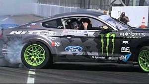 Vaughn Gittin Jr.'s 900 HP Mustang At Formula Drift Media Day 2016