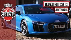 Audi R8 V10 Plus in Goodwood