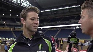 2016 - Race Day LIVE! - Detroit - Tyler Bowers Interview