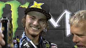 2016 - Race Day LIVE! - Indianapolis - Aaron Plessinger on the Podium