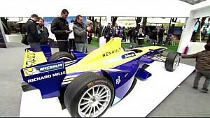 La Renault e.dams all'ePrix di Parigi