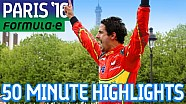 Paris ePrix 2016 (50 Minute Highlights) - Formula E