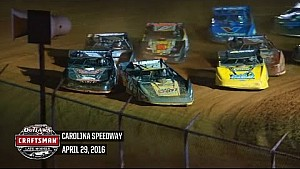 World of Outlaws Craftsman Late Models Carolina Speedway April 29th, 2016 | HIGHLIGHTS