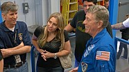 NHRA drivers take a trip to NASA's Johnson Space Center in Houston