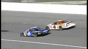 Mark Martin Wins at Kansas