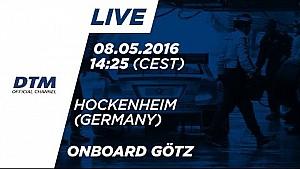 LIVE Onboard (Race 2) - Maximilian Götz (Mercedes-AMG C63 DTM) - DTM Hockenheim 2016