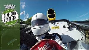 Rene Arnoux beim Bergrennen