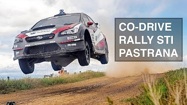 How To (Not) Co-Drive A Rally Subaru STI With Travis Pastrana