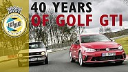 VW Celebrates 40 Years Of The Iconic Golf GTI