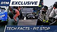 DTM 2016: технічні факти піт-стопу