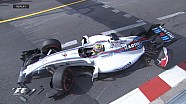 GP de Monaco - L'accident de Felipe Massa lors des EL1