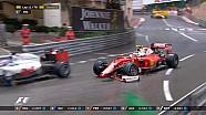 GP de Monaco - Räikkönen tape à l'épingle