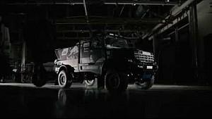 Rally challenger nuevo de equipo Kamaz