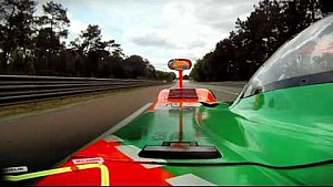 Mazda 787B in Le Mans