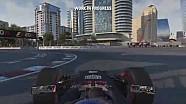 F1 2016 - Un tour du circuit de Bakou avec Daniel Ricciardo