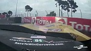 24H du Mans - Le crash de la Corvette n°64