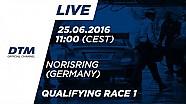 Прямой эфир: DTM на Норисринге, первая квалификация