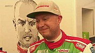 INTERVIEW - Rob Huff was fastest in the first Portuguese WTCC session