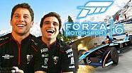 Loic Duval ve Jerome d'Ambrosio, Forza Motorsport 6'da kapıştı!
