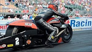 Eddie Krawiec races to his third Wally of the season