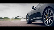 Andy Murray vs Jaguar XE, F-Type SVR and Formula E car