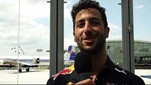 Hangar-7: Daniel Ricciardo interview before Austrian GP