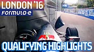 London 2016 Saturday Qualifying Highlights - Formula E