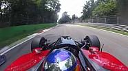 Onboard: F1 e ChampCar batem em Monza