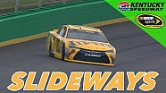 Spectaculaire save van Kyle Busch in Kentucky