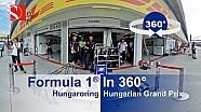 F1 en 360° en el Hungaroring Gran Premio de Hungría - Sauber F1 Team