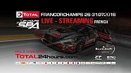 LIVE - Les Total 24H de Spa 2016