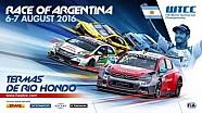 Ven a la carrera WTCC de Argentina
