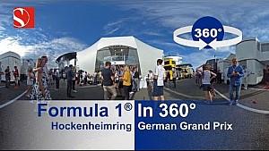 F1 in 360°: Hockenheimring, Sauber
