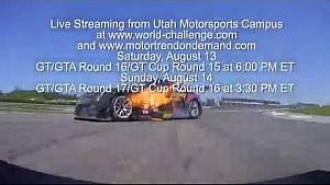 PWC 2016 Utah Motorsports Campus Live Streaming Promo