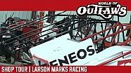 Where are Sprint Cars Born   Larson Marks Racing Shop Tour