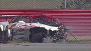 Enorme crash op Mid-Ohio