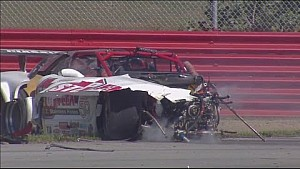 Massive crash at Mid-Ohio Trans Am Series race