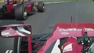 Belçika GP: Çılgın Max Vettel'e karşı