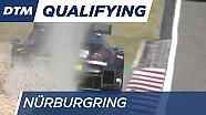 Лучшие моменты первой квалификации DTM на Нюрбургринге