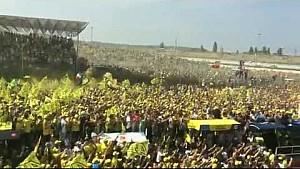 GP di San Marino, i tifosi di Valentino Rossi